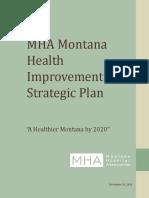 MHA Montana Health Improvement Strategic Plan