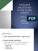PPT Jurnal Shoulder Dislocation - Pendek