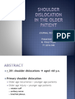 PPT Jurnal Shoulder Dislocation - Pendek