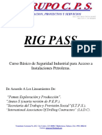 Presentacion Del Curso Rig Pass Grupo Cps
