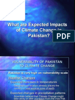 What Are Expected Impacts of Cliamte Change in Pakistan
