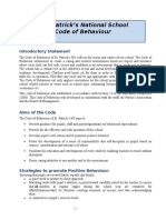 code of behaviour 16