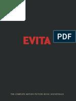 Evita (Promotional Press Booklet)