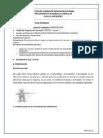 Guia de Aprendizaje Fase 2. Planer Producción