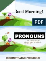 Pronouns G10
