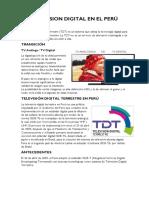 Television Digital en El Perú