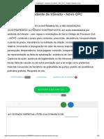 Contestação - Acidente de Trânsito - Novo CPC - Petição _ Modelo Inicial