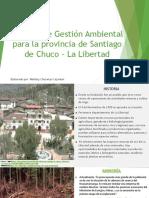 Medio Ambiente - Santiago de Chuco
