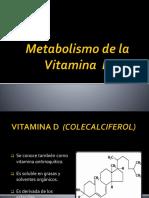 metabolismo de la vitamina D