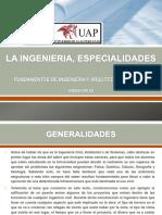 La Ingenieria Especialidades