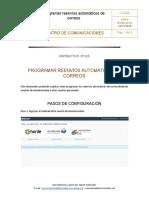 CI-025 Programar Reenvios Automáticos de Correos