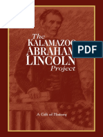 Kalamazoo Abraham Lincoln Project Capital Campaign Pamphlet