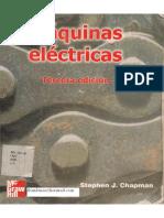 Maquinas Eléctricas 3° edición Stephen Chapman