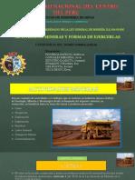 actividades mineras