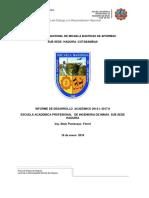 informe 18 academico