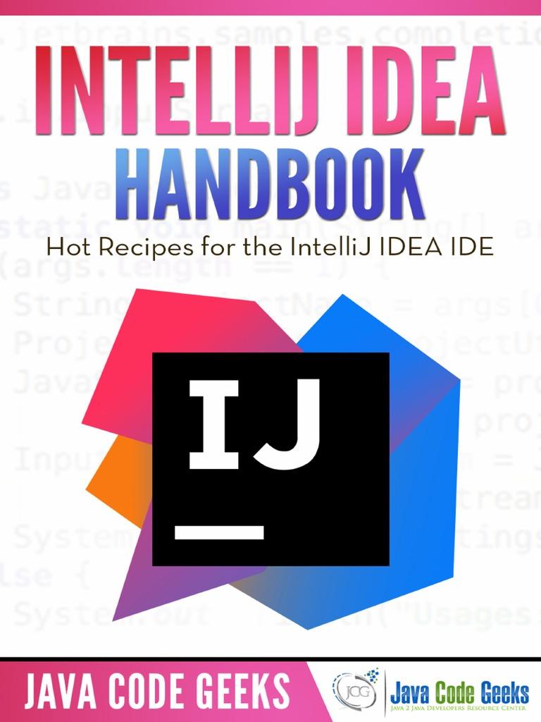 IntelliJ IDEA Handbook pdf | Areas Of Computer Science | Computer