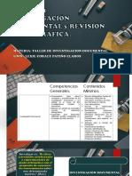 Taller de Investigacion Documental y Revisión Bibliografica