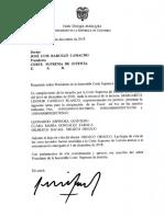 Gilberto Orozco entra a terna de Fiscal Ad Hoc en reemplazo de Cabello