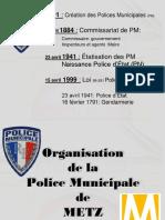 Organisation de la Police Municipale de Metz