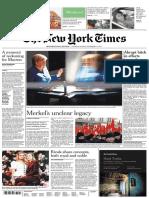 International New York Times - 8-9 December 2018