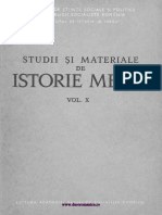 Studii Si Materiale de Istorie Medie 1983 v10