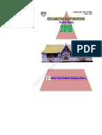 Kecamatan Bantimurung Dalam Angka 2016
