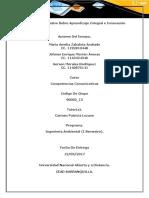 Trabajo Colaborativo Sobre Aprendizaje Colegial e Innovación