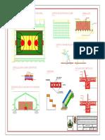 A.- Planos Generales Tinglado Tipo Modulo Educativo Juan Pablo II B-modelo