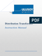Distribution Transformer - Instruction Manual