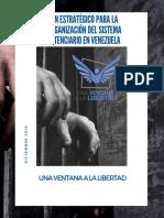 Una Ventana a la Libertad presenta plan estratégico para la reorganización del sistema penitenciario venezolano 2018
