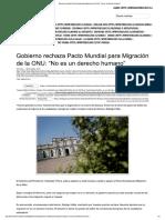 Gobierno Rechaza Pacto Mundial Para Mig...n de La ONU_ _No Es Un Derecho Humano