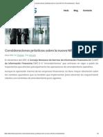 NIF D5 Consideraciones