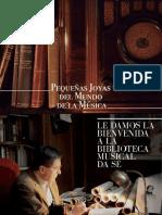 Programa Biblioteca Musical-Joyas de La Música-V