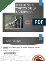 Antecedentes Históricos de Fisioterapia en el Renacimiento