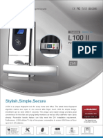 Cerradura Biometrica Anviz l100 II