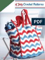 9 Free 4th of July Crochet Patterns eBook