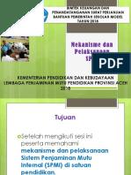1.Mekanisme Dan Pelaksanaan SPMI Di Sekolah