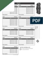 Rwm Army Sheet