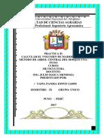 Clases Diametricas y Calculo de Volumen de Madera TAPIA IMPRIMIR