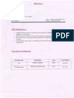 Electrician CV