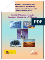 TERCER INFORME IPCC