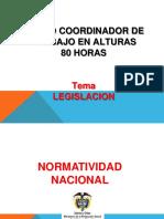 3. LEGISLACION ALTURAS