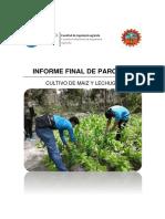 Informe Final de Agrotecnia