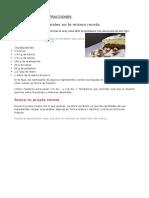 Gastronomia Con Fracciones y Decimales