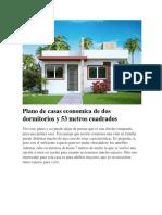 Casas Modelo Chalet