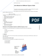 Footing & Soil Behaviour - 2