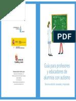 Guía Profesores y Educadores de Alumnos Con Autismo