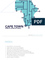 Cape Town Tech Sector Slide Deck or A5 Booklet Content