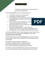 GeleHesjes Standpunten lijst NL