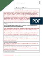 lesson reflection 1